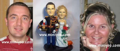 exemple3 - Figurine Mariage Personnalise