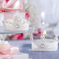 bougie couronne princesse